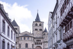 Cathedral of St. Peter - the oldest Christian church in Germany Stock Photography