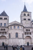 Cathedral of St. Peter - the oldest Christian church in Germany. Stock Image