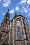 Cathedral of st. Peter and Paul, Brno Stock Image