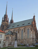 Cathedral of St. Peter and Paul in Brno. Czech Stock Photography