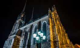 Cathedral of St. Peter and Paul, Brno Royalty Free Stock Photography
