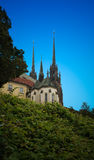 Cathedral of St. Peter and Paul, Brno Stock Photo