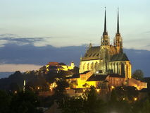 Cathedral of St. Peter and Paul Czech Republic Royalty Free Stock Photography
