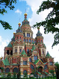 Cathedral of St. Peter and Pavel, Petergoph Royalty Free Stock Photo