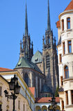 The Cathedral of St. Peter and St. Paul Brno Royalty Free Stock Photos