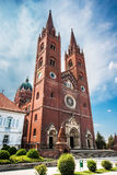 Cathedral of St. Peter and St. Paul in Djakovo stock images