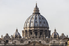 Cathedral of St. Peter in Vatican (Rome,Italy) Stock Photo