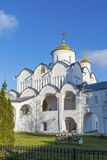Cathedral at St. Pokrovsky Monastery was built  16th century in Suzdal. Golden Ring Travel of Russia Royalty Free Stock Photos