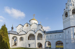 Cathedral at St. Pokrovsky Monastery was built  16th century in Suzdal. Golden Ring Travel of Russia Stock Photography