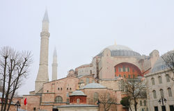 Cathedral of St. Sophia (Hagia Sophia). Istanbul, Turkey Royalty Free Stock Photography