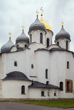 Cathedral of St. Sophia The Wisdom Of God, Veliky Novgorod Royalty Free Stock Photo