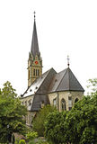 Cathedral of St. St. Florian in Vaduz. Principality of Liechtenstein Royalty Free Stock Photos