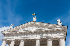 Cathedral of St. Stanislaus and St. Vladislav, Vilnius Stock Photos