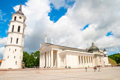 Cathedral of St. Stanislaus, Vilnius, Lithuania Stock Image