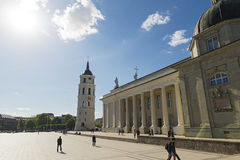Cathedral of St. Stanislaus. Vilnius Stock Photo