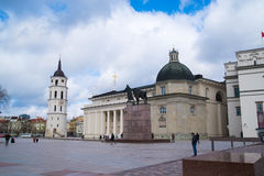 The Cathedral of St. Stanislav and St. Vladislav. Vilnius, Lithuania Europe Royalty Free Stock Photography