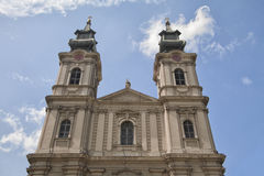 Cathedral of St Teresa Avila in Subotica Royalty Free Stock Photo
