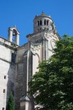 Cathedral of St. Theodore in Uzes Royalty Free Stock Photo