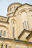 Cathedral, St. Trinity, Sameba, church Royalty Free Stock Image