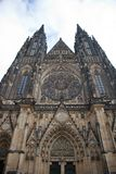 Cathedral of St. Vita. With the chapel of St. Wenceslas. Prague, Czech Republic Stock Images