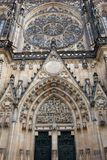 Cathedral of St. Vita. With the chapel of St. Wenceslas. Prague, Czech Republic Stock Photo