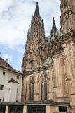 Cathedral of St. Vita. With the chapel of St. Wenceslas. Prague, Czech Republic Royalty Free Stock Image