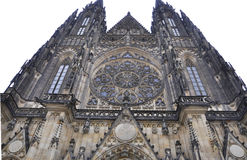 Cathedral St.Vitus details from Prague in Czech Republic Stock Photos