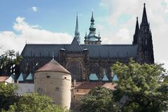Cathedral of St Vitus Royalty Free Stock Photo