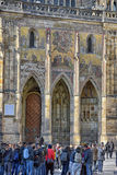 Cathedral of St Vitus Royalty Free Stock Photography