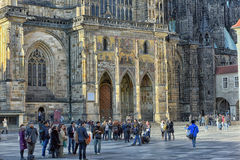 Cathedral of St Vitus Stock Images