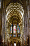 Cathedral of St Vitus in the Prague castle Royalty Free Stock Images
