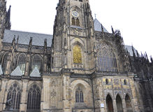 Cathedral St.Vitus from Prague in Czech Republic Stock Photo
