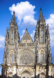 Cathedral of st. Vitus, Vaclav and Voiteha. Prague Royalty Free Stock Photography