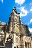 Cathedral of St. Vitus. Wenceslas and Vojtech in Prague Castle, Czech Republic Royalty Free Stock Images