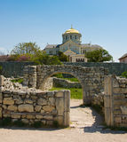 Cathedral of St.Vladimir. Chersonesus Royalty Free Stock Photography