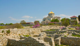 Cathedral of St. Vladimir. Chersonesus Royalty Free Stock Photo