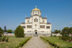 Cathedral of St.Vladimir. Chersonesus Stock Image