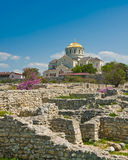 Cathedral of St. Vladimir. Chersonesus in Crimea Royalty Free Stock Images