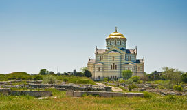 Cathedral of St. Vladimir. Chersonesus in Crimea Stock Photos