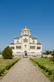 Cathedral of St. Vladimir. Chersonesus in Crimea Stock Image