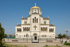 Cathedral of St. Vladimir. Chersonesus in Crimea Royalty Free Stock Photography