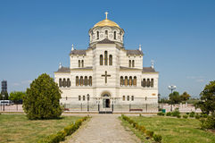 Cathedral of St. Vladimir. Chersonesus in Crimea Royalty Free Stock Photo