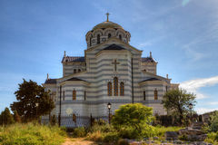Cathedral of St. Vladimir. Chersonesus Taurica Royalty Free Stock Images