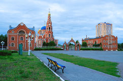Cathedral of St. Vladimir Novocheboksarsk. Royalty Free Stock Photos