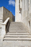 Cathedral staircase. Apulia. Stock Photography