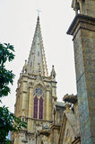 The cathedral steeple Royalty Free Stock Photos
