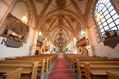 Cathedral in Stockholm Royalty Free Stock Image