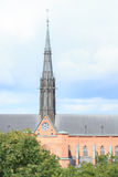 Cathedral in Sweden Royalty Free Stock Photos