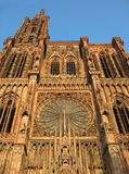 Cathedral Strasbourg. Historic Cathedral in the Strasbourg Royalty Free Stock Photo