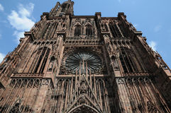 Cathedral of Strasbourg Royalty Free Stock Image